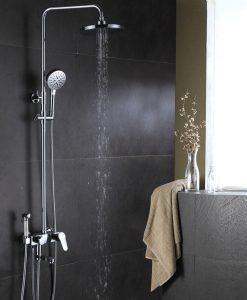 Chrómový sprchový set Wanfan